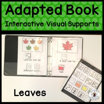 Leaves Adapted Book with Interactive Visuals