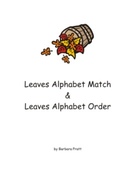 Leaves Alphabet / Letters Games eBook