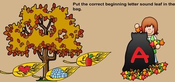 Leaves Beginning Letter Sounds