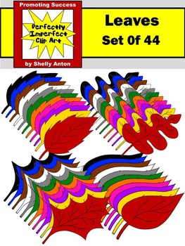 Leaves Clipart, Fall Clip Art, Autumn Clip Art, Colors Clipart, Leaf