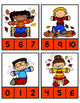 Leaves~ Count and Clip Numbers 0-20