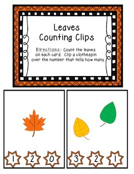 Leaves Counting Clips 1-10