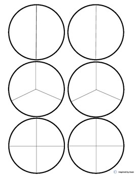 """Leaves"" Fraction Circles for Autism"