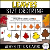 Leaves Size Ordering (From Smallest to Largest)