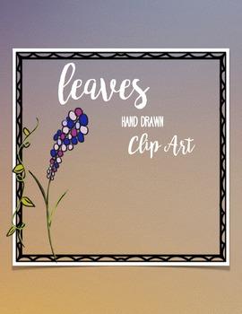 Leaves Hand Drawn Clip Art