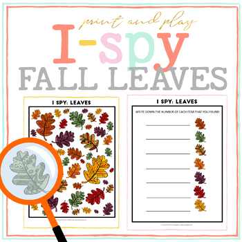 Leaves I-Spy