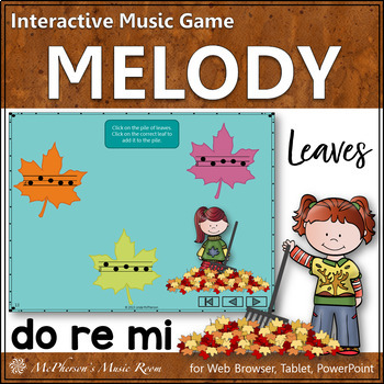 Leaves -  Interactive Music Game (Do Re Mi)
