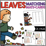 Leaves Matching Mats and Activity Cards (Patterns, Colors,
