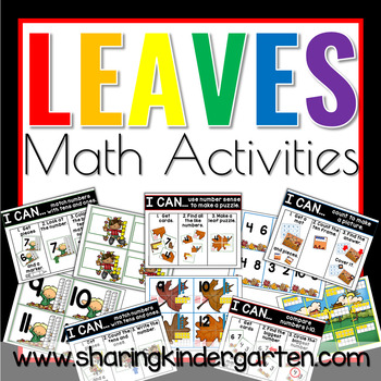 Leaves Math Activities