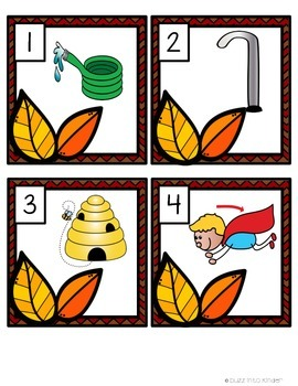 Leaves: Mini Word Work for CVCE Words