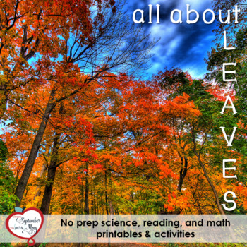 Leaves NO PREP Fall/October Mini Unit