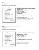 Leaves Poem Demonstration of Learning