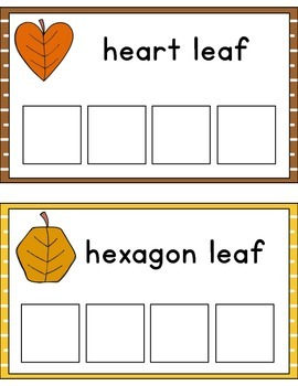 Leaves Shape Sorting