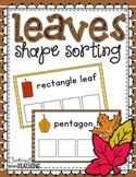 Leaves Shape Sorting