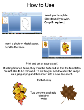 Leaves Templates