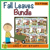Leaves Themed Literacy & Math Bundle