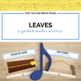 Leaves: a guided xylophone activity to teach high and low