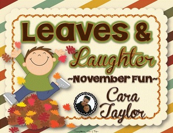 Leaves and Laughter~ November Fall Fun for Young Learners