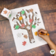 Fall Leaves and Trees Activities for Pre-K, Preschool and Tots