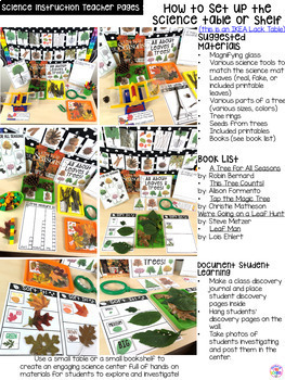 Leaves and Trees - Science for Little Learners (preschool, pre-k, & kinder)