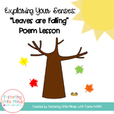 Leaves are Falling (Exploring your Senses) Poetry Packet
