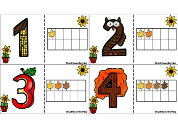 Leaves are Falling! Literacy & Math Centers