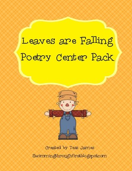 Leaves are Falling Poetry Center Pack