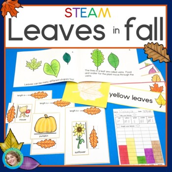 Leaves in Fall STEAM investigations