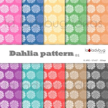 Leaves pattern, pastel colors, digital papers. Wallpapers. Backgrounds.