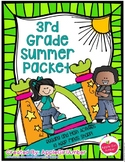 Leaving 2nd Grade and ready for 3rd Grade Summer Packet