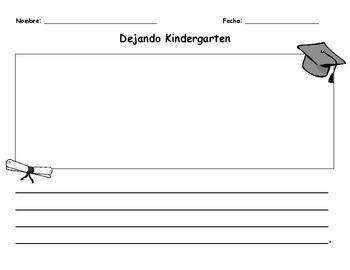 Leaving Kindergarten (Bilingual)