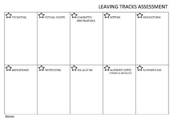 Leaving Tracks Assessment Proforma 2