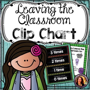 Leaving the Classroom Clip Chart
