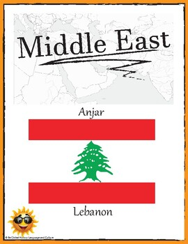 (Middle East GEOGRAPHY) Lebanon: Anjar—Research Guide