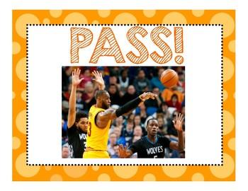 Lebron James Sight Word Basketball Edition