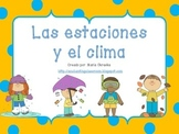 Lección sobre las estaciones y el clima