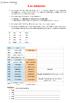 Lección 1 - El alfabeto, la presentación y los números