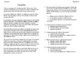 Lecciones de secuencia - Sequence Lessons in Spanish