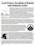 Lech Walesa Solidarity Biography