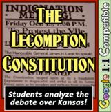 Lecompton Constitution: Students analyze the debate over Kansas! Civil War!