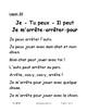 Leçons 27-33 PROF fiches qui accompagnent livrets 27-33 C1 Première-deuxième
