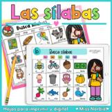 Sílabas para Google Classroom y PowerPoint™ | Syllables Spanish Lectoescritura