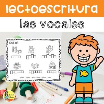 Lectoescritura: vocales
