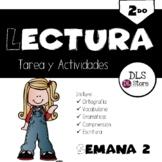 Lectura 2do. Semana 2 -Tareas y Actividades Palabras con c,z,s