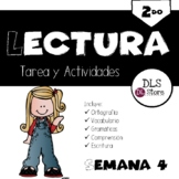 Lectura 2do. Semana 4 -Tareas y Actividades - Plurales -s,