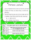 Lectura Cerca - Close Reading Bilingual Spanish