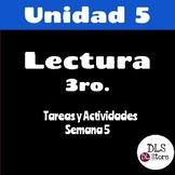 Lectura Unidad 5 - Semana 5 - 3er Grado
