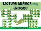 Lectura con Froggy: Palabras silábicas en español