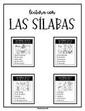 Lectura con las sílabas