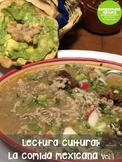 Lectura cultural: La comida mexicana - Vol. 1